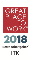Logo Great Place to Work ITC 2018