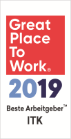 Great Place to Work: Beste Arbeitgeber in der ITK Branche 2019
